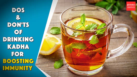 Dos and Don'ts of drinking kadhas for boosting immunity