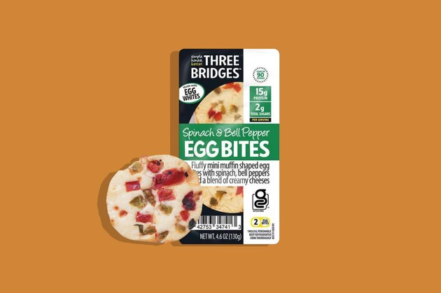 Three Bridges Spinach and Bell Peper Egg Bites