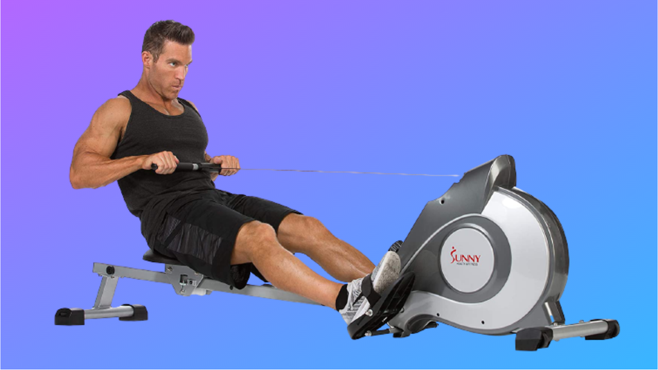 Not a fan of exercise bikes? Try a rowing machine instead.