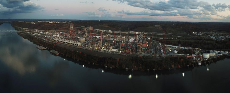 shell petrochemical plant