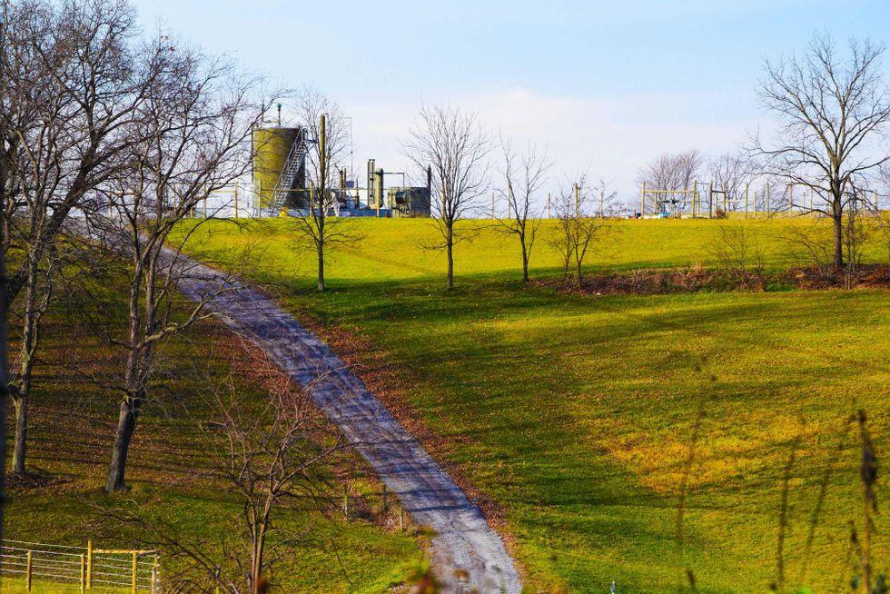 fracking well pennsylvania