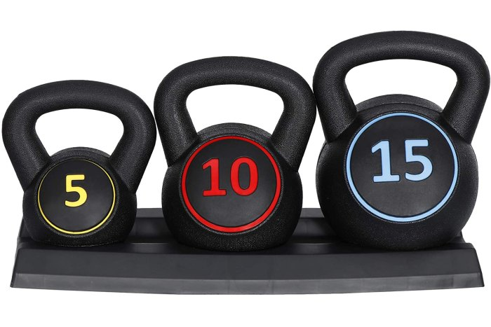 F2C 3-Piece Kettlebell Set