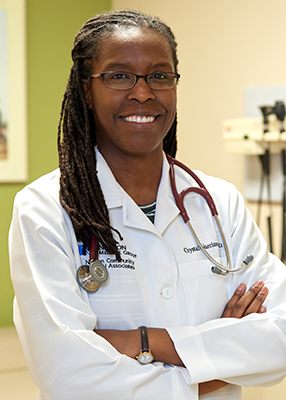 Crystal D. Narcisse, M.D., internal medicine physician and pediatrician