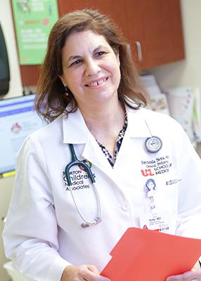 Maria F. Nota, M.D., pediatrician