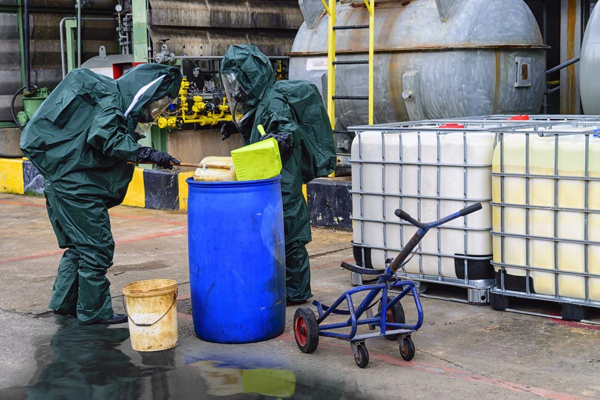 Hazardous material release, RCRA, CERCLA, environmental response